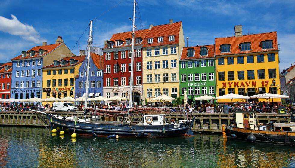 Mandatory Credit: Photo by Paul Brown/REX (5732916j) Coloured houses and boats at Nyhavn Quay in Copenhagen, Denmark Copenhagen, Denmark - Jun 2016