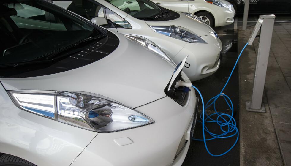 ELBILER BILLIGST: Beregninger gjort av Opplysningsrådet for veitrafikken viser at elbil gir de laveste kostnadene. Foto: Heiko Junge / NTB.