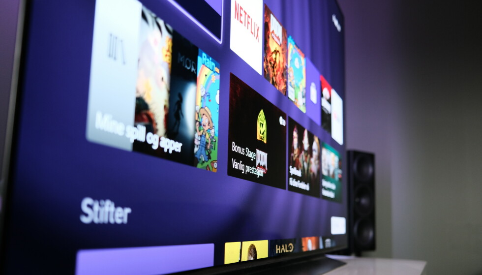 75 TOMMER: LGs OLED-TV hadde omtrent samme strømforbruk som en eldre LED-modell. Foto: Martin Kynningsrud Størbu
