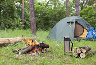 Hvor kan du campe med telt og hengekøye?
