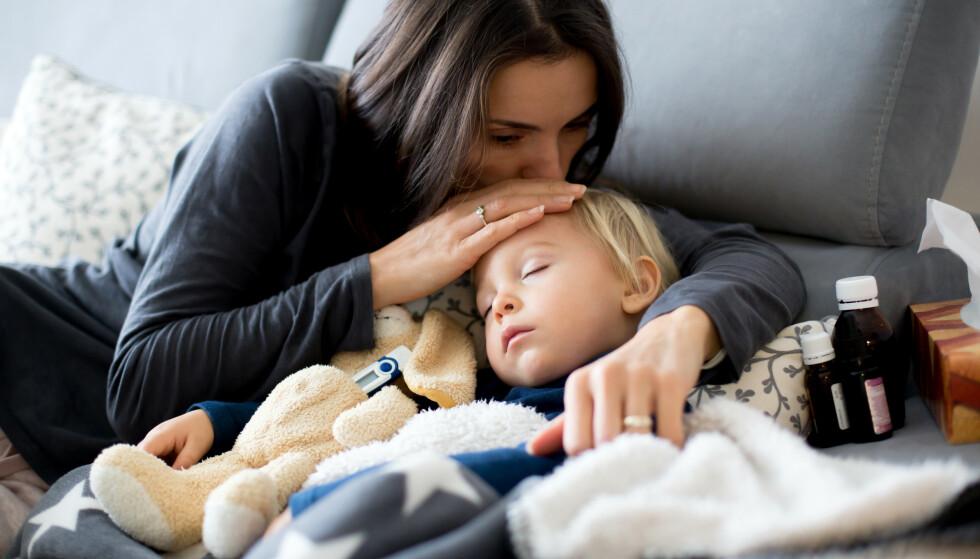 SYKT-BARN-DAGER: Regjeringen vil forlenge de midlertidige ordningene på grunn av smittesituasjonen blant barn. Foto: NTB