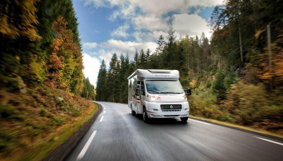 BOBIL: Regjeringen foreslår flere regelverksendringer for campingbiler. Foto: Jon-Petter Thorsen/Aptum