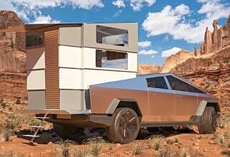 Tesla Cybertruck som campingbil