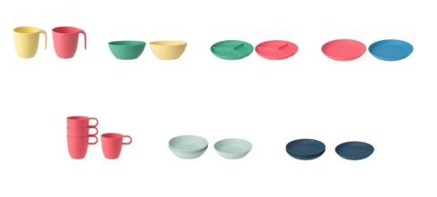 Ikea tilbakekaller tallerkener, skåler og krus