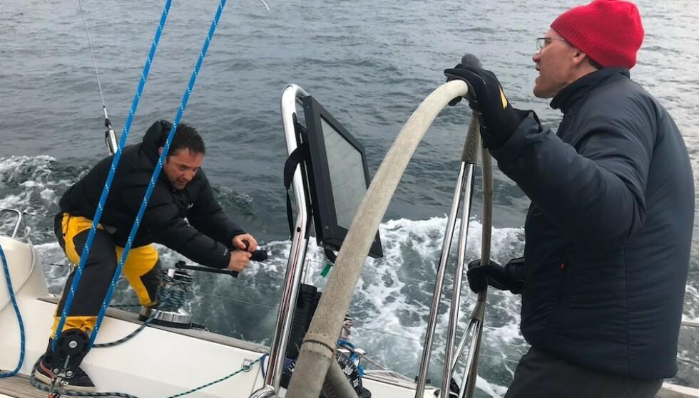 Godt forberedt: Vær forberedt på raske værskifter til sjøs. Foto: Odd Roar Lange/The Travel Inspector