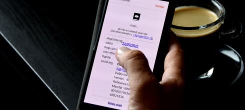 Skatteetaten advarer mot e-postsvindel
