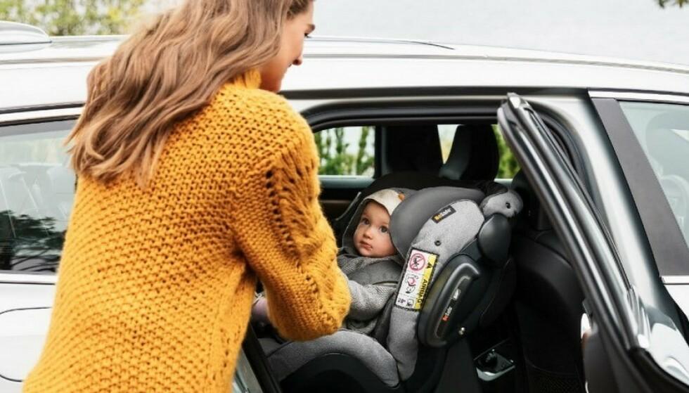 BESKYTTER BARNET: De fem bruktbilene på topp tilfredsstiller høye kravene til kollisjonssikkerhet og sikkerhetsutstyr. De beskytter det lille barnet i baksetet på beste måte. Foto: BeSafe
