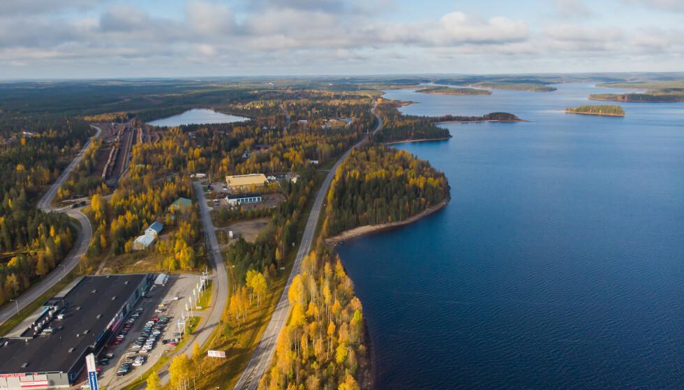 RØDT: Kajanaland i Finland går fra gult til rødt, melder Utenriksdepartementet. Foto: Shutterstock/NTB