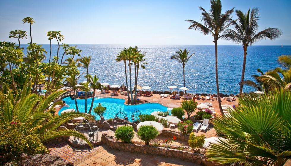 REISERÅD: Det er ikke anbefalt å reise til Spania med dagens reiseråd. Her fra Tenerife. Foto: NTB