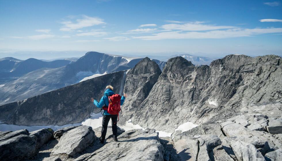 Høyt til værs: Snøhetta i Dovrefjell. Foto: Monica Hägglund Langen