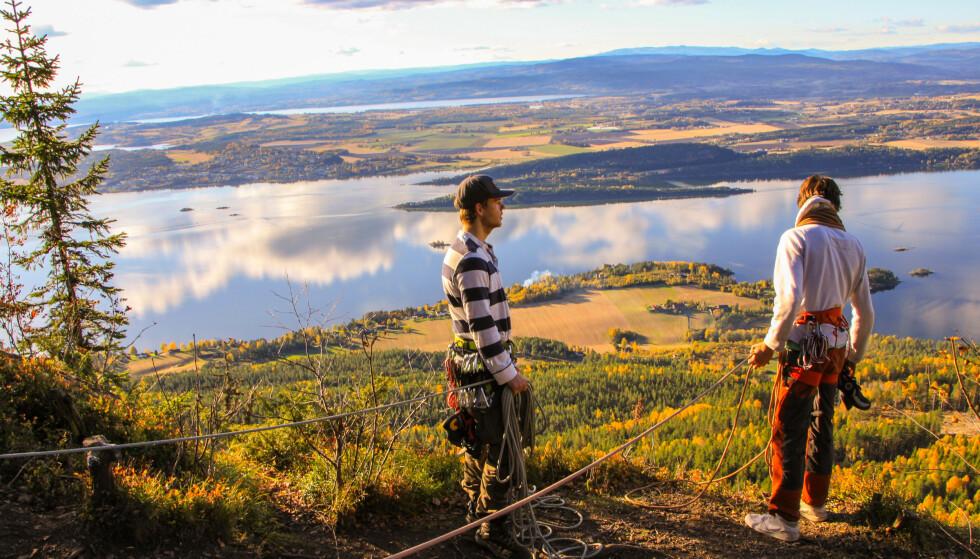 Utsikt i øst: Visste du at du i Krokskogen kan oppleve denne utsikten? Foto: Sindre Nikolai Aker