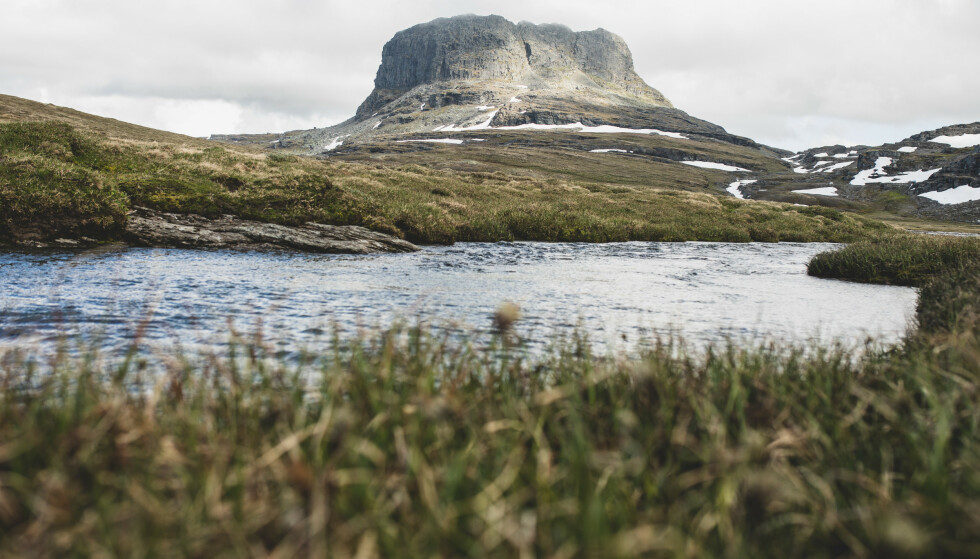 På vidda: Hårteigen og Hardangervidda venter. Foto: Line Hårklau