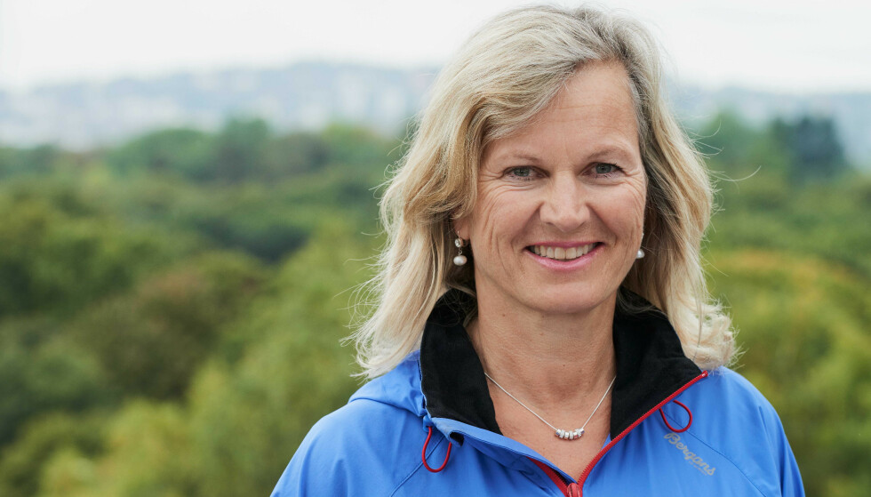 Glede: Administrerende direktør i NHO Reiseliv Kristin Krohn Devold ser positivt på en trvel reiselivssommer i Norge. Foto: Per Sollerman