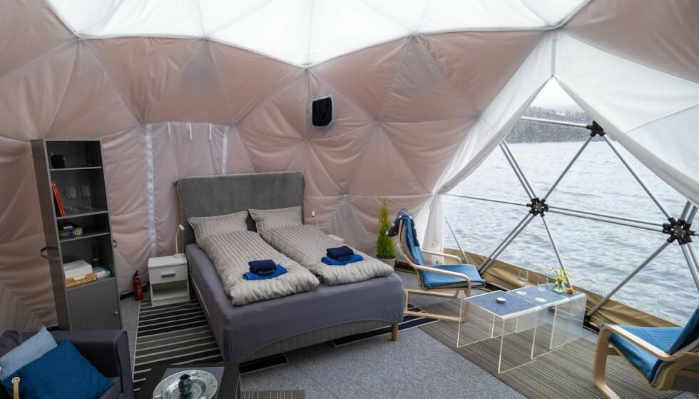 Sov godt: Telttur blir ikke helt det samme etter å ha prøvd glamping. Foto: Airbnb