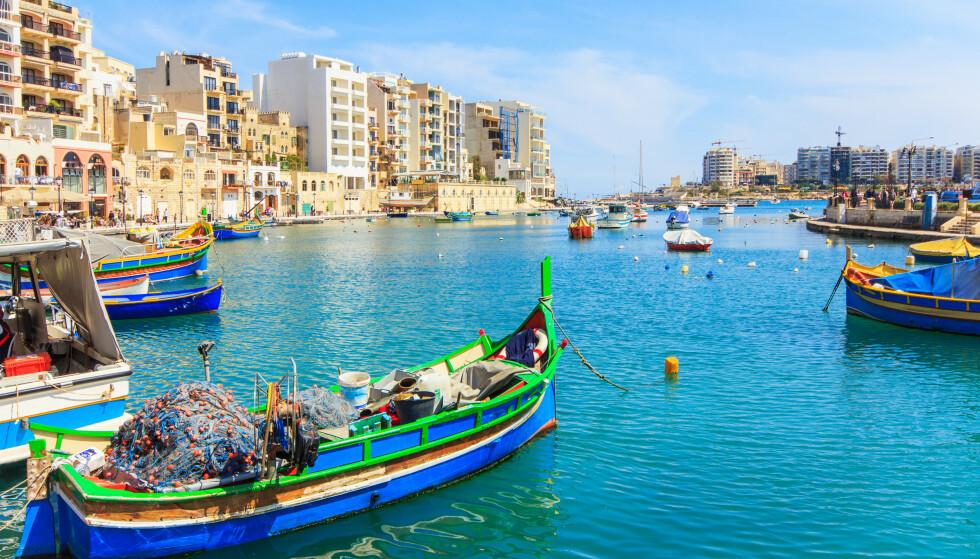 GULT LAND: Velger du å reise til Malta som det første sydenlandet som unntas fra reiserådet, er det en del praktiske ting du bør være klar over. Foto: NTB