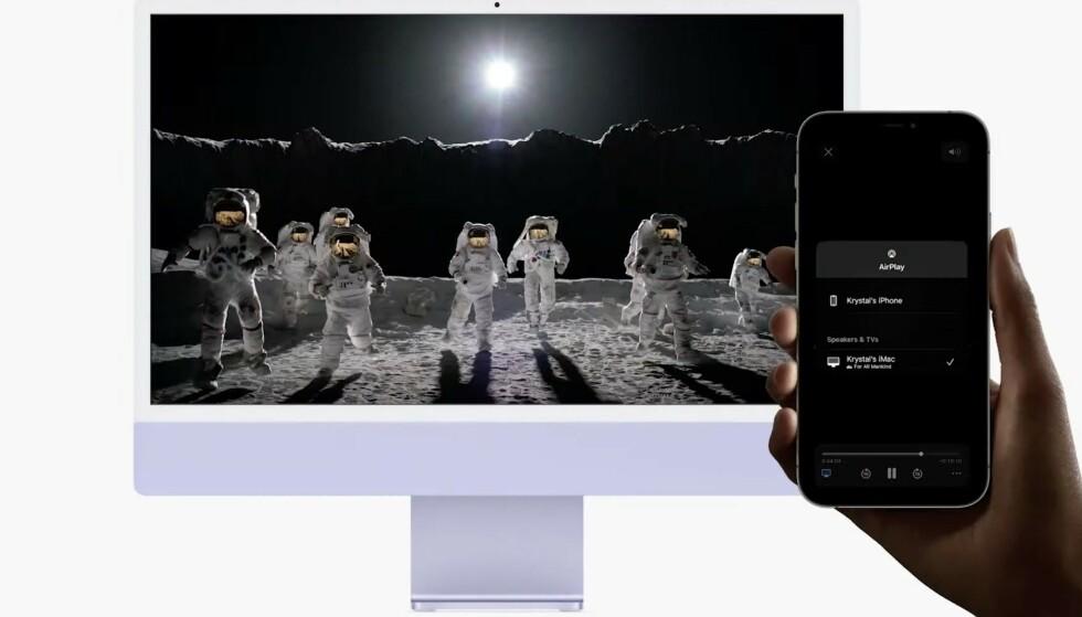 Snart får også Mac støtte for Airplay. Foto: Apple