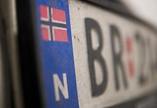 Snart kan du avregistrere kjøretøyet midlertidig uten å levere inn skiltet