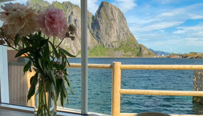 Middag med utsikt: I Sjømatbaren kan du nyte både utsikt og mat på samme tid. Foto: Kathrine Salhus