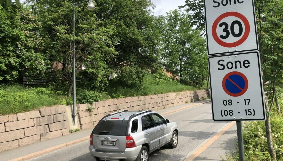 OGSÅ NORGE: Dersom EU vedtar en fartsgrense på 30 km/t, vil det også komme til å gjelde norske byer. Foto: Rune Korsvoll