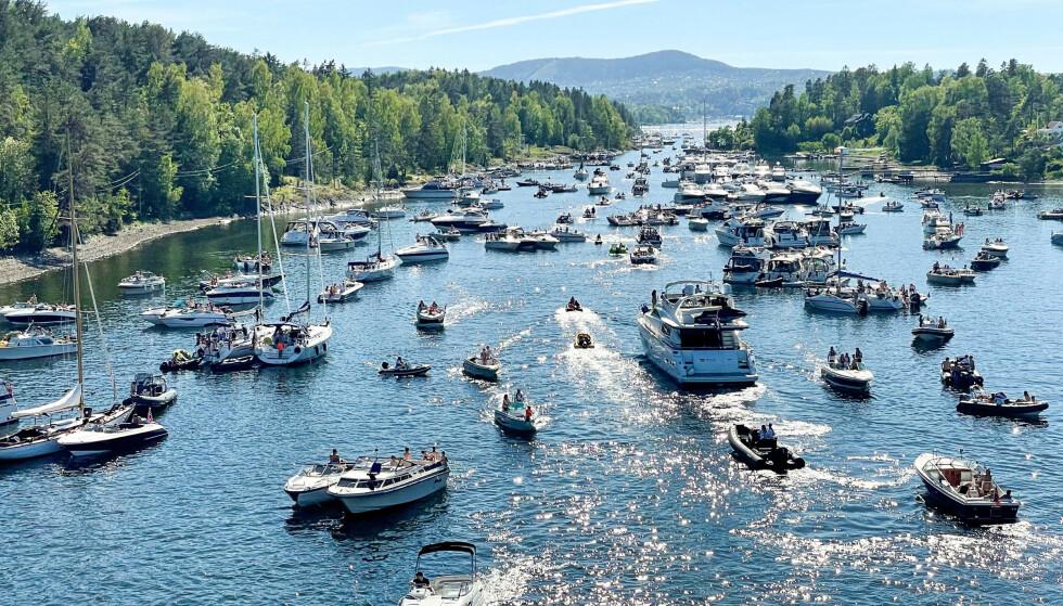 KAOS: Kongelig Norsk Seilforening frykter på båtkaos og coronabrudd på sjøen i sommer. Foto: Torstein Bøe / NTB
