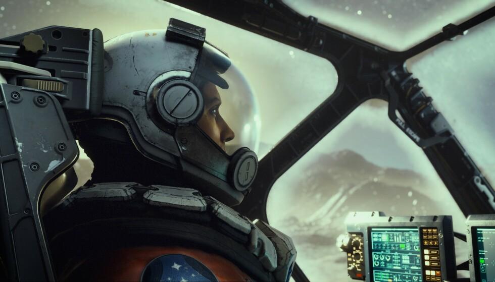 STARFIELD: Et av de mest etterlengtede spillene fra Bethesda. Foto: Bethesda