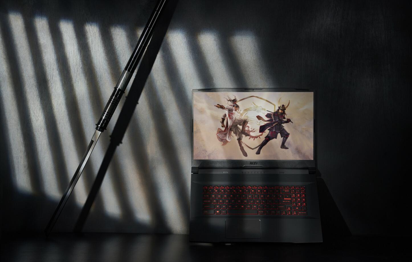 SYLSKARP: MSIs nye gaming-bærbare Katana GF er kraftfull. Og usedvanlig elegant. Det er ikke tilfeldig.