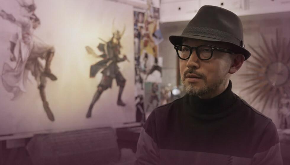 LEGENDESTATUS: Illustratøren Tsuyoshi Nagano har bistått MSI i arbeidet med Katana GF.