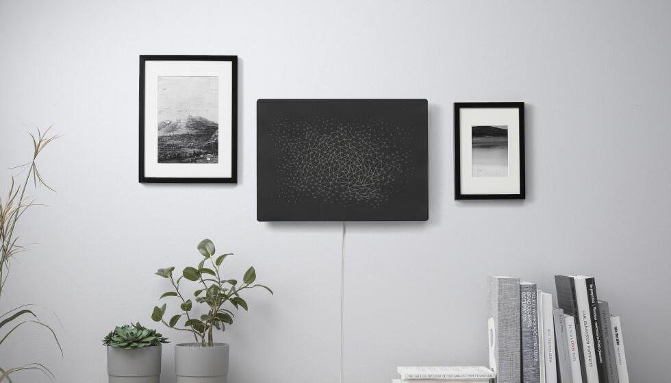 IKEA SYMFONISK BILDERAMME: Dette er den nye høyttaleren i Sonos og Ikeas Symfonisk-serie. Foto: Ikea
