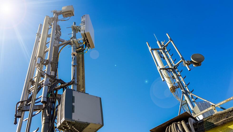 BYGGES UT: Telia planlegger å gi mange nye norske kommuner 5G-støttet i løpet av utgangen av 2021. Hvilke kommuner det gjelder kan du se i tabellen lenger ned. Foto: Shutterstock / NTB