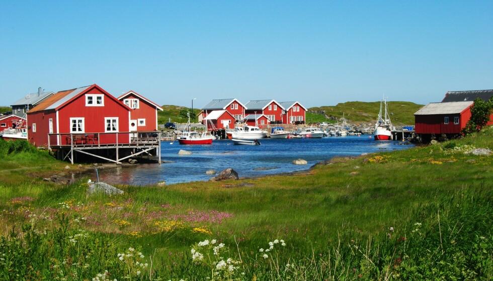 Øykommunen Vega i Nordland er blant kommunene der 5G-utbyggingen fra Telia starter 3. kvartal. Foto: Shutterstock / NTB