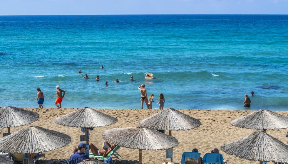DRØMMER OM HELLAS: Mange drømmer om ferie på Kreta og andre greske øyer i sommer. Foto: Halvard Alvik / NTB