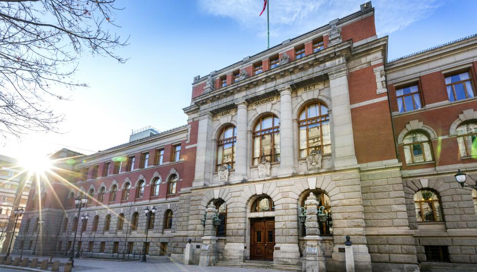 Oslo  20190228.Eksteriør Norges Høyesterett på Høyesteretts plass 1 i Oslo.Foto: Gorm Kallestad / NTB
