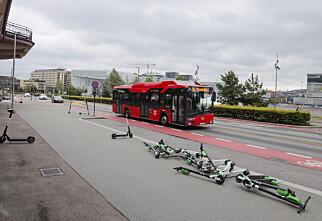 Nå kan du få parkeringsbot med elsparkesykkelen
