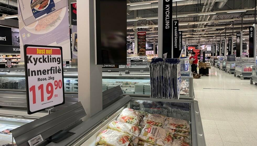 Norsk favoritt: Nordmenn gjør seg klare for nye shoppingturer til Sverige. Foto: Odd Roar Lange/The Travel Inspector