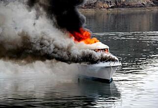 Antall båtbranner øker kraftig