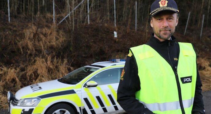 Steven Hasseldal er sjef i Utrykningspolitiet (UP).