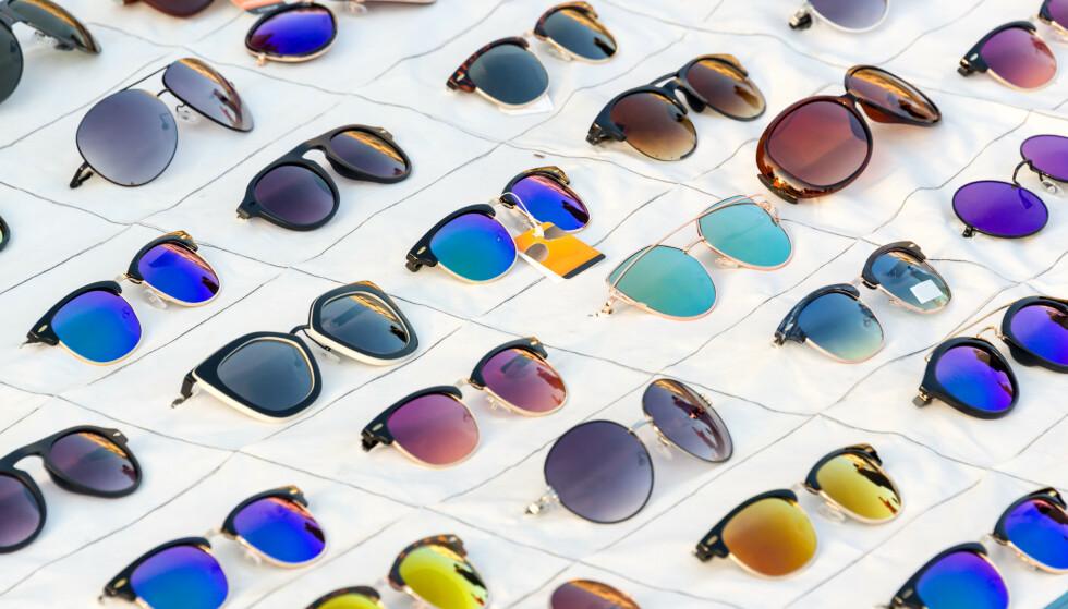 SOLBRILLEGLASS: De ulike fargene har ulike funksjoner. Foto: Delpixel / Shutterstock / NTB