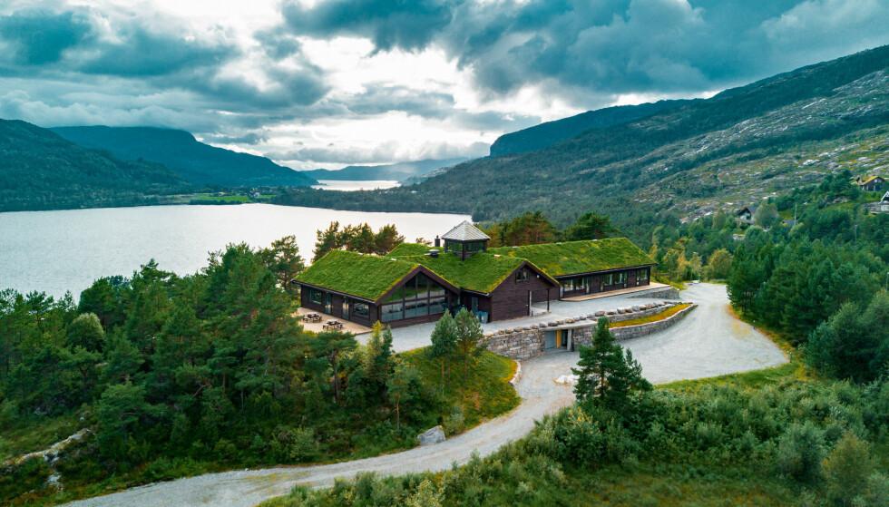 Besøk på lodgen: I Fusa ligger Skjelbreid Poirée Lodgen.                             Foto: Privat