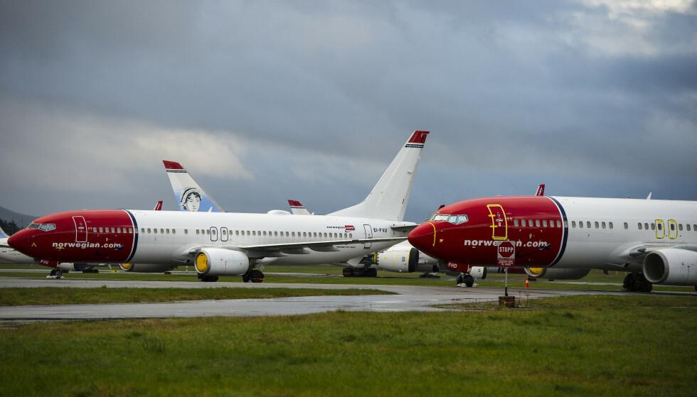 VENTER FORTSATT: 34.000 Norwegian-kunder står oppført som kreditorer etter rekonstruksjonen av selskapet. Foto: Carina Johansen / NTB