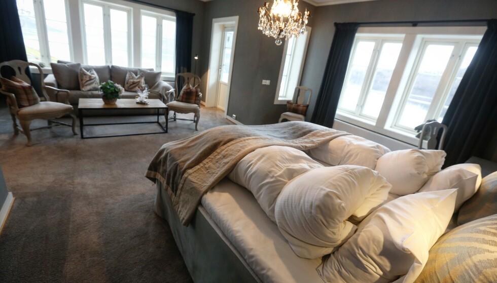 Hjørnet: Husk å spørre om å få det beste rommet, hjørnerommet. Foto: Odd Roar Lange/the Travel Inspector