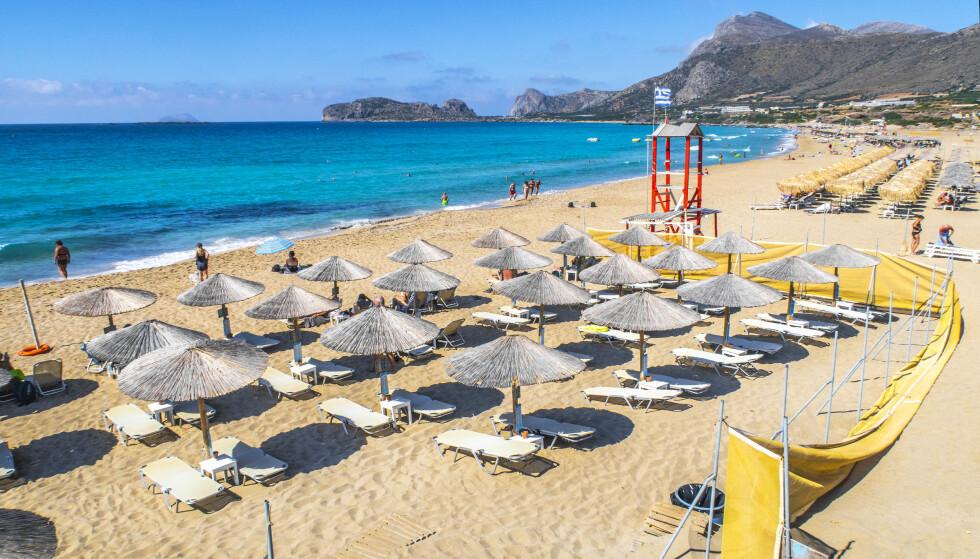 GRØNT: Fra mandag 5. juli blir Hellas og Kreta grønt. Foto: Halvard Alvik / NTB