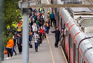 Ingen tog mellom Norge og Sverige i sommer