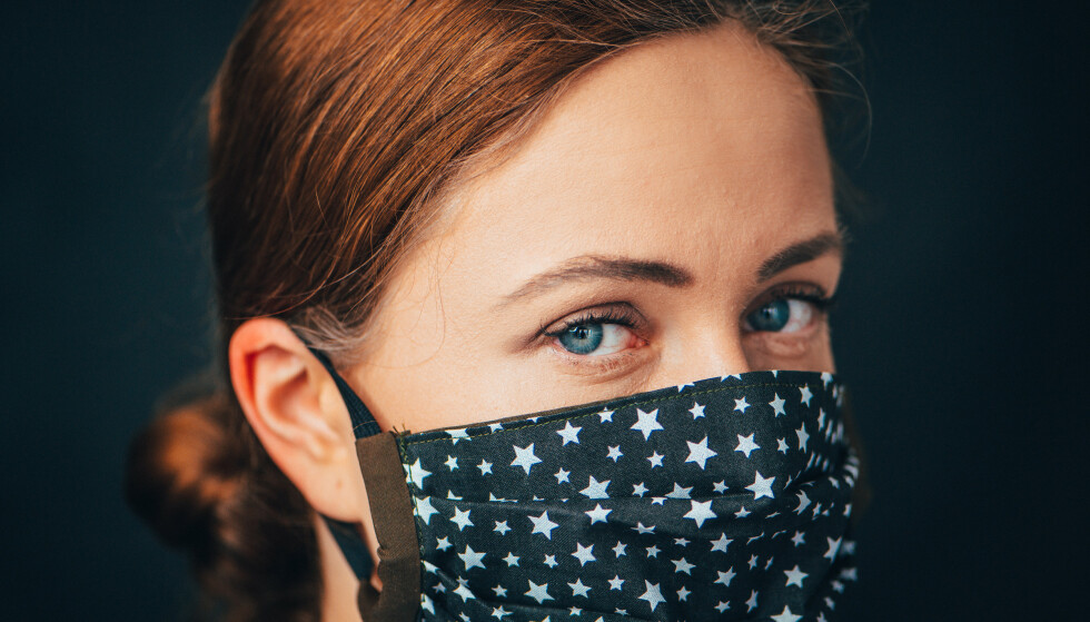 Forbudt: SAS nekter passasjerer å bruke munnbind av stoff. Foto: Shutterstock / NTB