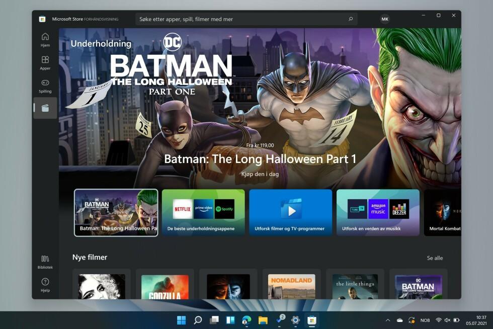 Nye Microsoft Store.