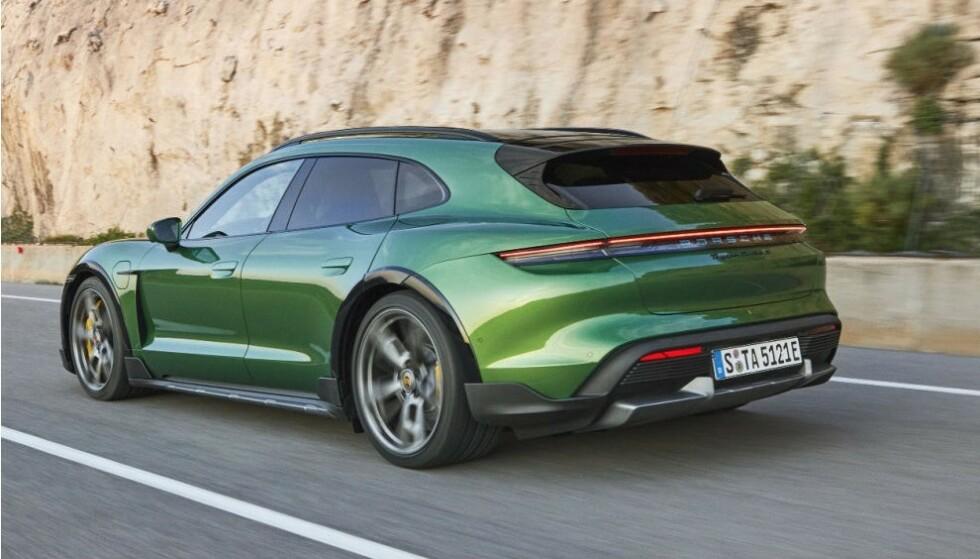 MANGE I NORGE: I Norge er Taycan blitt en gedigen suksess, takket være en pris som starter på under 800 000 kroner. Rundt 1600 biler er solgt på kort tid. Foto: Porsche