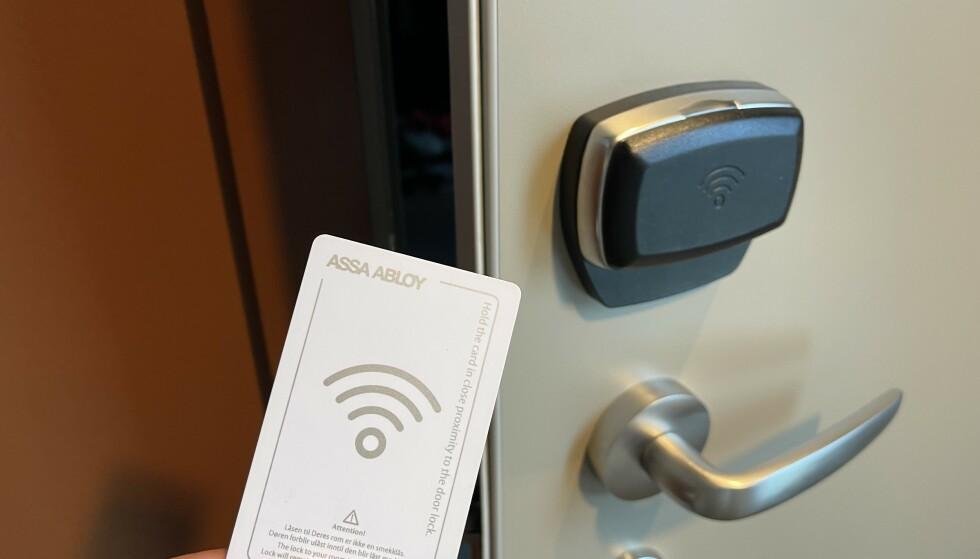 For sikkerhets skyld: Husk å låse en ekstra gang. For sikkerhets skyld. Foto: Odd Roar Lange/The Travel Inspector