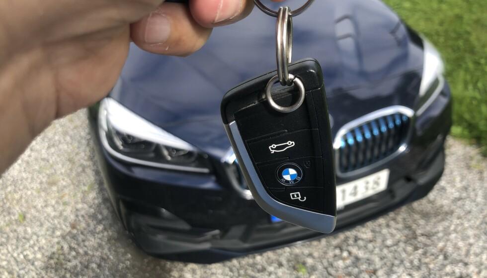 EKSTRA NØKKEL: Å skaffe en ny nøkkel etter den du mistet etter en avstikker til fots på Hardangervidda, kan ta et par dager. Foto: Rune Korsvoll