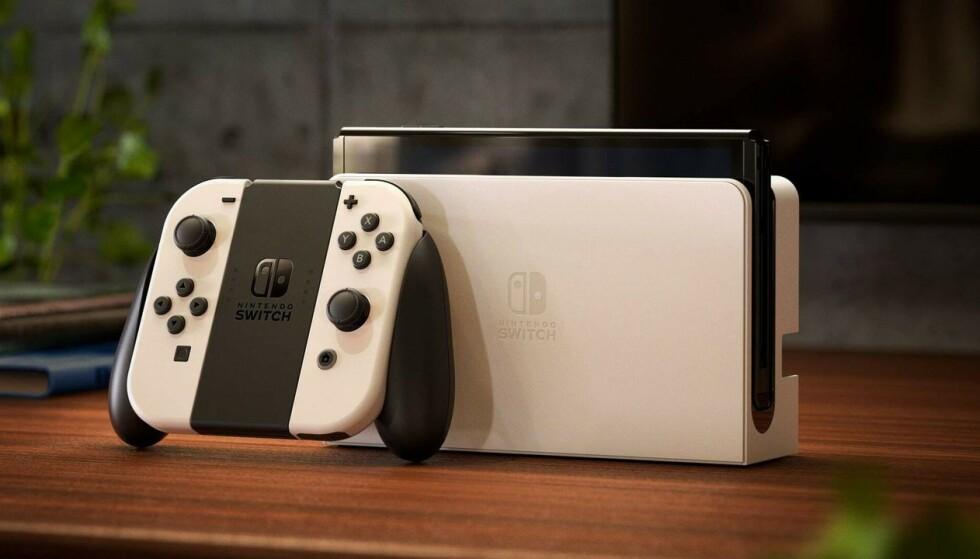 NINTENDO SWITCH OLED: Endelig er den offisiell – Nintendo Switch med OLED-skjerm. Foto: Nintendo