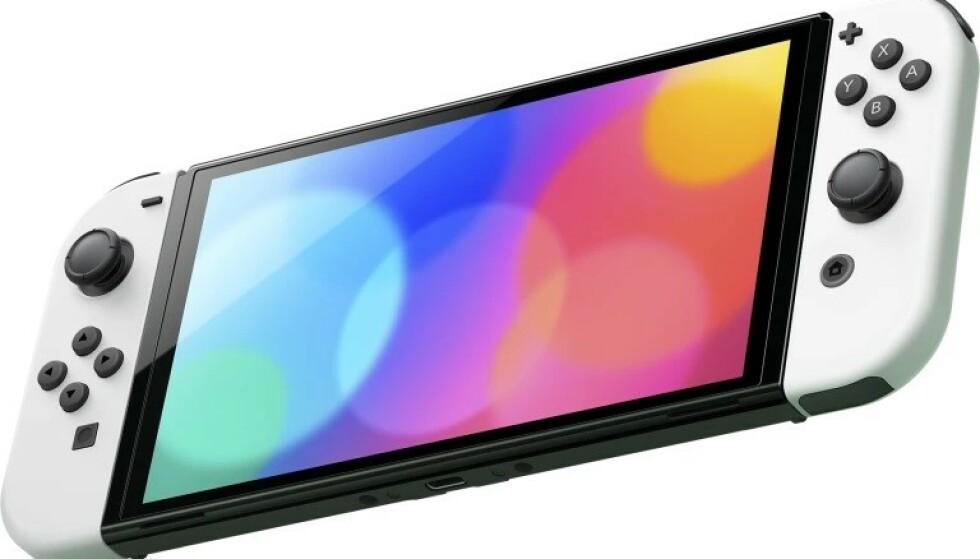 Nintendo Switch med OLED-panel lanseres i høst. Foto: Nintendo
