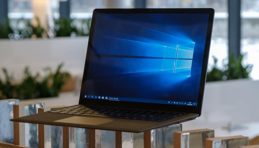 WINDOWS: Microsoft slipper en kriseoppdatering til Windows 7, Windows 8 og Windows 10 etter at det ble avdekket et alvorlig sikkerhetshull i operativsystemene. Foto: Martin Kynningsrud Størbu